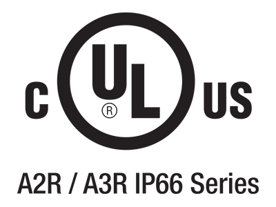 (IT) Certificazione UL – A2R e A3R